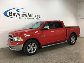 Used 2015 RAM 1500 SLT - BIGHORN ECODIESEL! HITCH! TOW/HAUL! U-CONNECT! CHROMES! for sale in Belleville, ON