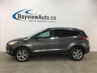 Used 2016 Ford Escape - SYNC! REVERSE CAM! NAV! PANOROOF! ECOBOOST! KEYPAD! for sale in Belleville, ON