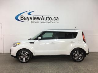 Used 2015 Kia Soul EX+ - HTD LTHR! PUSH START! REVERSE CAM! BLUETOOTH! CRUISE! for sale in Belleville, ON