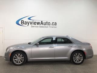Used 2018 Chrysler 300 Touring - HTD LTHR! NAV! REVERSE CAM! U-CONNECT! PANOROOF! REMOTE START! for sale in Belleville, ON