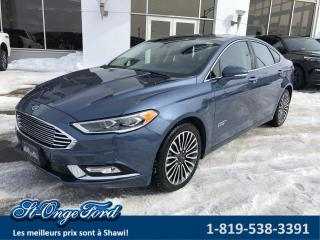 Used 2018 Ford Fusion Plug-In Hybrid Titanium TA for sale in Shawinigan, QC