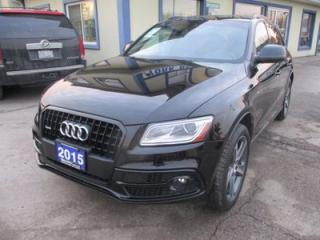 Used 2015 Audi Q5 LOADED PRESTIGE EDITION 5 PASSENGER 2.0L - TURBO.. AWD.. LEATHER.. HEATED SEATS.. BLUETOOTH.. NAVIGATION.. POWER SUNROOF.. for sale in Bradford, ON