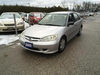 Used 2005 Honda Civic DX Sedan for sale in Newmarket, ON