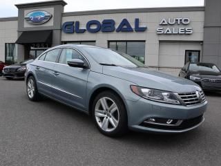 Used 2013 Volkswagen Passat CC Sport Line 6 SPEED. LEATHER ALLOYS. for sale in Ottawa, ON