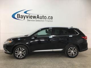 Used 2018 Mitsubishi Outlander ES - 7PASS! SUNROOF! LEATHER! REVERSE CAM! HTD STEERING WHEEL! for sale in Belleville, ON