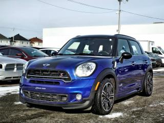 Used 2015 MINI Cooper Countryman S AWD *CUIR*TOIT* for sale in Brossard, QC