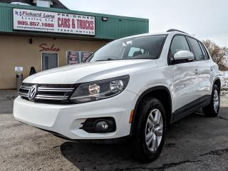 Used 2014 Volkswagen Tiguan Trendline CERTIFIED!!!!!! for sale in Bolton, ON