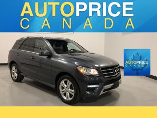 Used 2015 Mercedes-Benz ML-Class NAVIGATION|PANOROOF|LEATHER for sale in Mississauga, ON