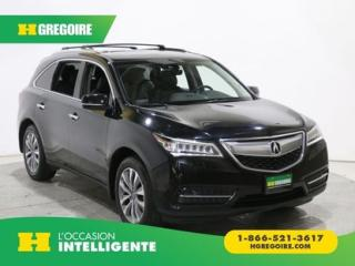 Used 2016 Acura MDX TECH PKG AWD 7 PASS for sale in St-Léonard, QC