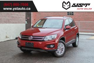 Used 2016 Volkswagen Tiguan Comfortline Warranty | CAM | No Accident for sale in Oakville, ON