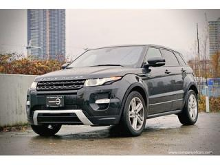 Used 2012 Land Rover Evoque Dynamic Premium for sale in Vancouver, BC