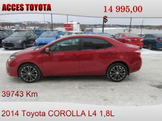 Used 2014 Toyota Corolla for sale in Rouyn-Noranda, QC