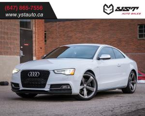 Used 2015 Audi S5 Technik No Accident |NAVI | Camera | Warranty |B&O for sale in Oakville, ON