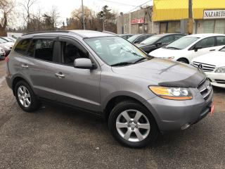 Used 2008 Hyundai Santa Fe Limited/ 7 SEATER/ AWD/ LEATHER/ SUNROOF/ ALLOYS! for sale in Scarborough, ON