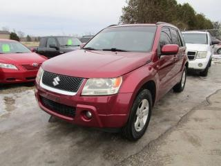 Used 2007 Suzuki Grand Vitara JX for sale in Cookstown, ON