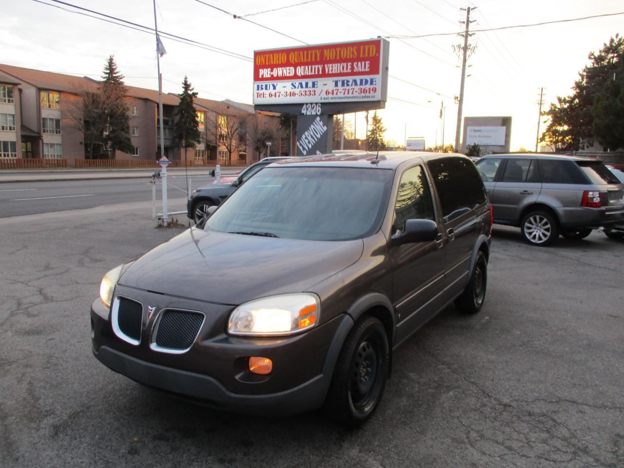 2008 Pontiac Montana w/1SA