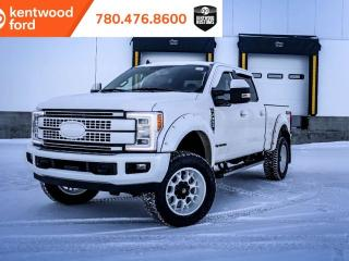 New 2019 Ford F-350 Super Duty SRW LARIAT, 6.7L POWERSTROKE DIESEL, FORDPASS CONNECT, SYNC 3, NAVIGATION, BLIS, QUAD BEAM LED HEADLAMP for sale in Edmonton, AB