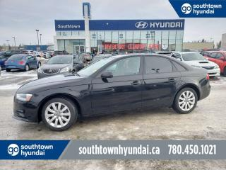 Used 2013 Audi A4 AWD/LEATHER/SUNROOF/HEATED SEATS for sale in Edmonton, AB