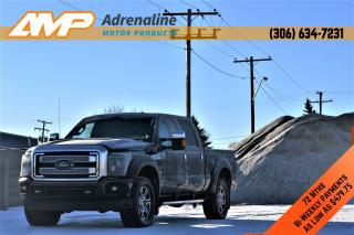 Used 2014 Ford F-350 Platinum for sale in Estevan, SK