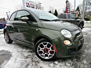 Used 2015 Fiat 500 COUPE SPORT -- CUIR - MAGS - BLUETOOTH - for sale in Repentigny, QC