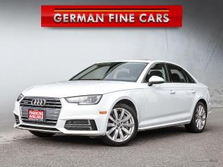 Used 2018 Audi A4 ** KOMFORT 2.0 TFSI QUATTRO ** for sale in Bolton, ON