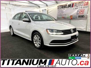 Used 2017 Volkswagen Jetta Wolfsburg Edition-Camera-Sunroof-Power Heated Seat for sale in London, ON