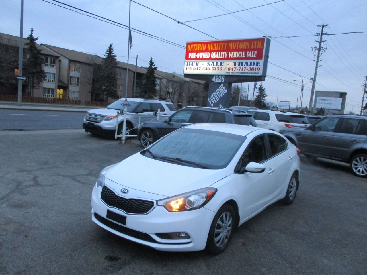 Ontario Quality Motors >> 2014 Kia Forte Ontario Quality Motors Ltd