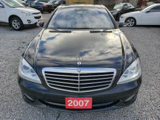 Used 2007 Mercedes-Benz S-Class S550/4-MATIC/382HP/LUXURY/NAV/BK-UP CAM/MUST SEE!! for sale in Scarborough, ON