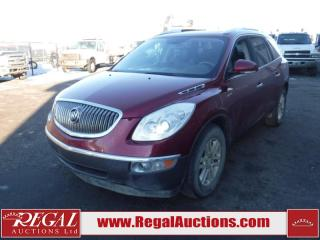 Used 2009 Buick Enclave CX 4D Utility AWD 7PASS 3.6L for sale in Calgary, AB