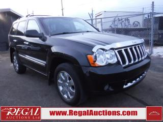 Used 2008 Jeep Grand Cherokee Overland 4D Utility 4WD for sale in Calgary, AB