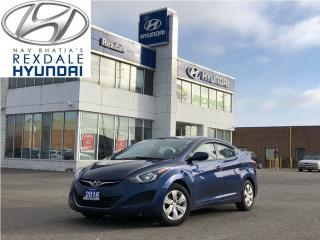 Used 2016 Hyundai Elantra GL, FINANCING AVAILABLE ON SITE for sale in Toronto, ON
