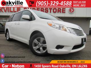 Used 2015 Toyota Sienna 8 PASS | NAV | B/U CAM | HEATED SEATS for sale in Oakville, ON