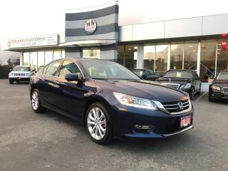 Used 2013 Honda Accord Sedan Touring V6 LEATHER NAVI SUNROOF for sale in Langley, BC