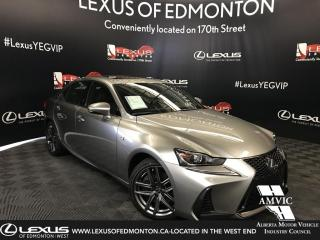 Used 2019 Lexus IS 300 DEMO UNIT - F SPORT SERIES 1 for sale in Edmonton, AB