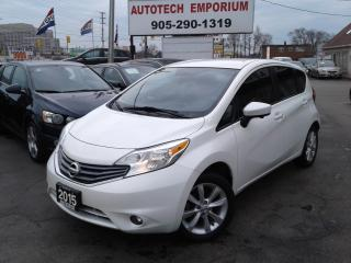 Used 2015 Nissan Versa Note SL Prl White Navigation/Camera/Bluetooth/Keyless for sale in Mississauga, ON