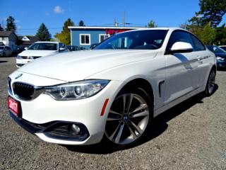Used 2017 BMW 4 Series 430i xDrive Sport PKG Navi Roof No Accident Certified for sale in Guelph, ON