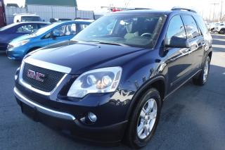 Used 2009 GMC Acadia SLE-1 AWD with 3rd Row Seating for sale in Burnaby, BC