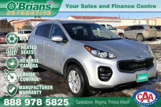 Used 2017 Kia Sportage LX w/Mfg Warranty, AWD for sale in Saskatoon, SK