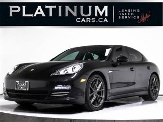 Used 2011 Porsche Panamera 4, AWD, NAVI, SUNROOF, Heated Leather for sale in Toronto, ON