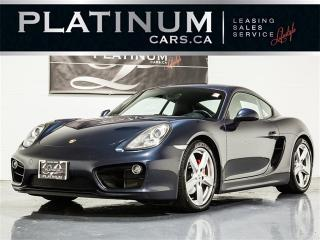 Used 2014 Porsche Cayman S, 6 SPEED, Sport CHRONO, Heated Lthr for sale in Toronto, ON