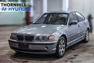 Used 2004 BMW 3 Series 325i  Leather, Sunroof for sale in Thornhill, ON