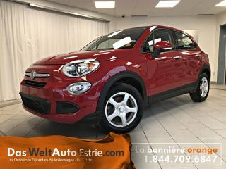 Used 2016 Fiat 500 X Pop, Gr. Électrique, A/C, Manuel for sale in Sherbrooke, QC