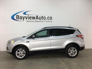 Used 2018 Ford Escape SEL - SYNC! HTD LTHR! PANOROOF! KEYPAD! REVERSE CAM! NAV! PWR LIFTGATE! for sale in Belleville, ON
