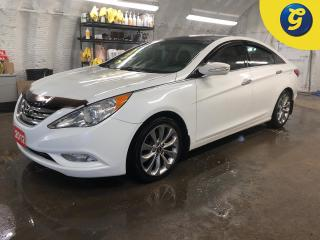 Used 2012 Hyundai Sonata Limited * Navigation * Leather * Sunroof/Sky View * Turbo * Weather tech rear floor mat * Dimension touch screen * Reverse camera * Heated front seats for sale in Cambridge, ON