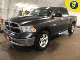 Used 2018 RAM 1500 SLT * Crew Cab * 4WD * Hemi * FuelSaver MDS * Phone connect * Heavy-duty transmission oil cooler Heavyduty engine cooling * 8speed TorqueFlite autom for sale in Cambridge, ON
