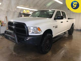 Used 2015 RAM 2500 Crew Cab * 4WD * Hemi * New Antres Deep digger rires w/M. Eyhem blk/red prism rims * New Step tube 3 inch step bars * New Rhino Bull Bar * U connect t for sale in Cambridge, ON