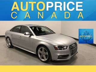 Used 2015 Audi S4 3.0T Technik NAVIGATION|BANG OULFSEN SOUND|BLIND SPOT for sale in Mississauga, ON
