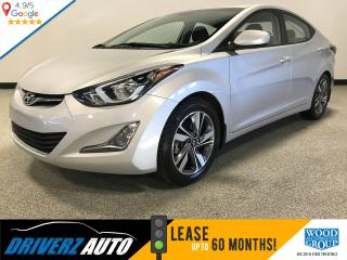 Used 2016 Hyundai Elantra Sport Appearance SUNROOF, REARVIEW CAMERA, HEATED SEATS for sale in Calgary, AB