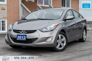 Used 2012 Hyundai Elantra 1 OWNER NO ACCIDENTS SUNROOF GLS CERTIFIED MINT for sale in Bolton, ON
