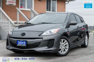 Used 2012 Mazda MAZDA3 6SPD SKY-ACTIV 5DR NO ACCIDENTS CERTIFIED SERVICED for sale in Bolton, ON